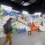 Une fresque de 250 m² par Vincent Leclère à la Part Dieu