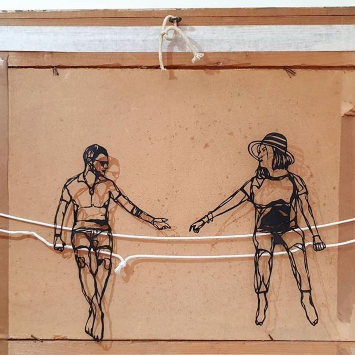 Don Mateo versus Confinement : victoire écrasante de l'art depuis chez soi avec #challengehomeart