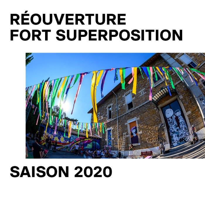 Dès le 04 juin : ouverture du Fort Superposition