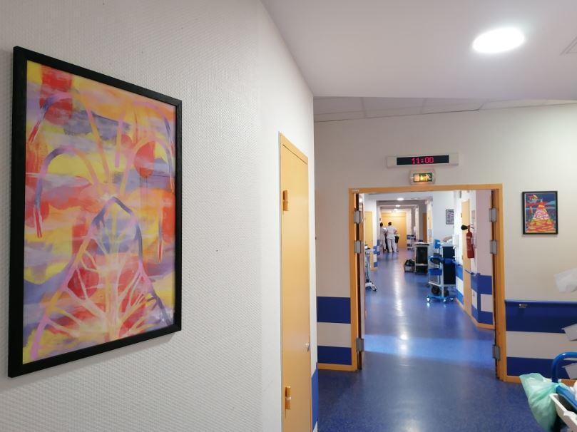 Œuvre Laho à Hôpital de la Croix-Rousse