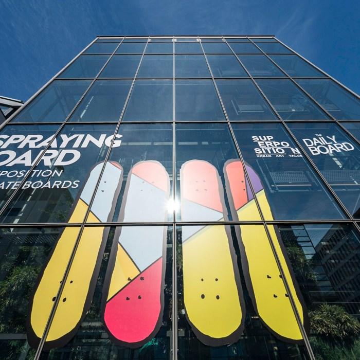 Spraying Board, une exposition de Skate Art mais pas que !