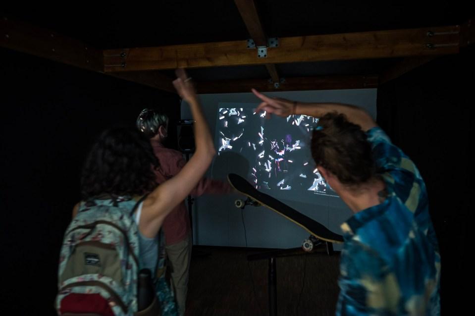 Installation interactive audiovisuelle