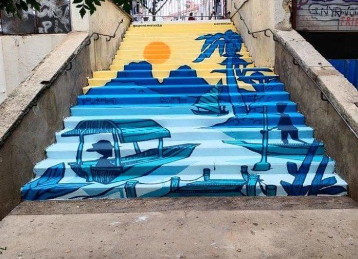 Escaliers rue Pasteur — 2021