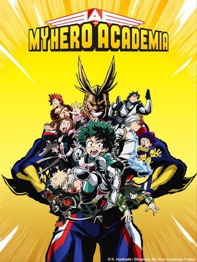 My Hero Academia Streaming Saison 1 : academia, streaming, saison, Dreams-Cartoons, Dessins, Animé, Toute