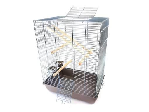 klatka dla ptaka, kanarka papugi