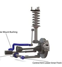 front suspension diagram for audi 80 8c b4 2wd 09 1991 10 [ 1680 x 873 Pixel ]