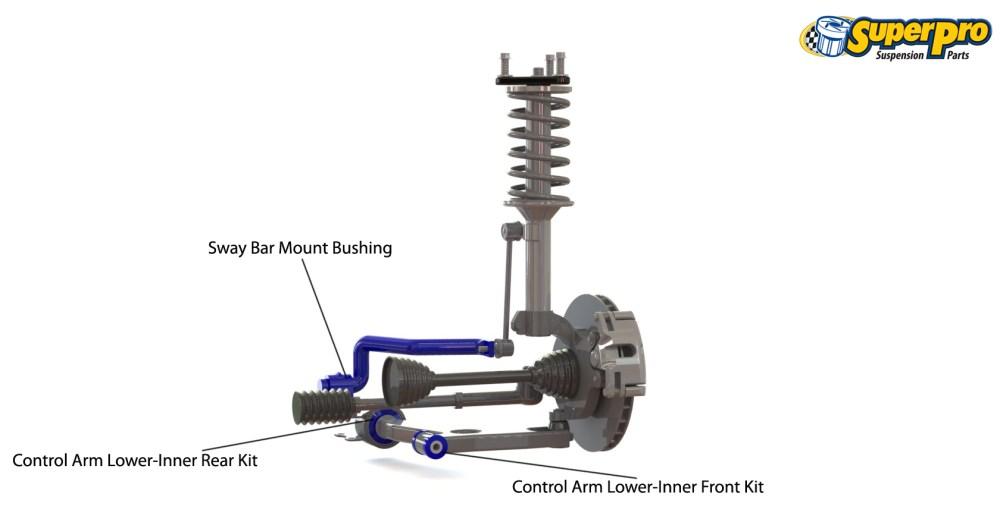 medium resolution of front suspension diagram for audi 80 8c b4 2wd 09 1991 10