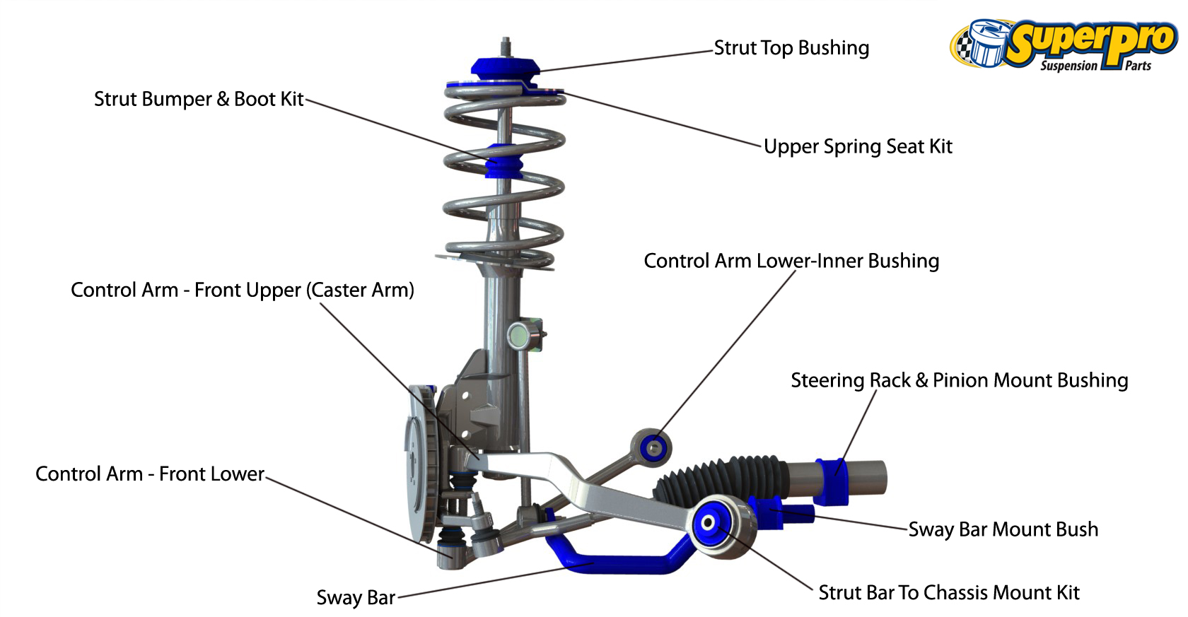 hight resolution of front suspension diagram for bmw z4 e89 2009 on