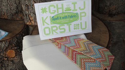 Spell It with Fabric Quilt Kit