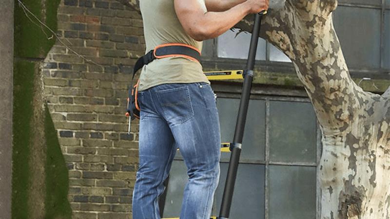 Échelle télescopique: outil indispensable pour vos travaux de jardinage