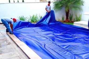 capas térmicas para piscinas