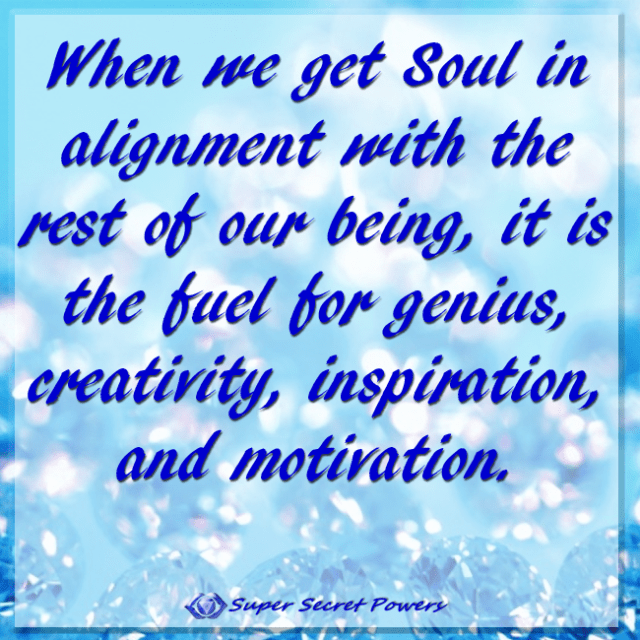 aligned soul is fuel