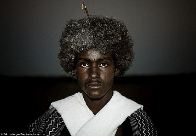 Black Hair Tribes In Ethiopia Use Butter For Hair Styling