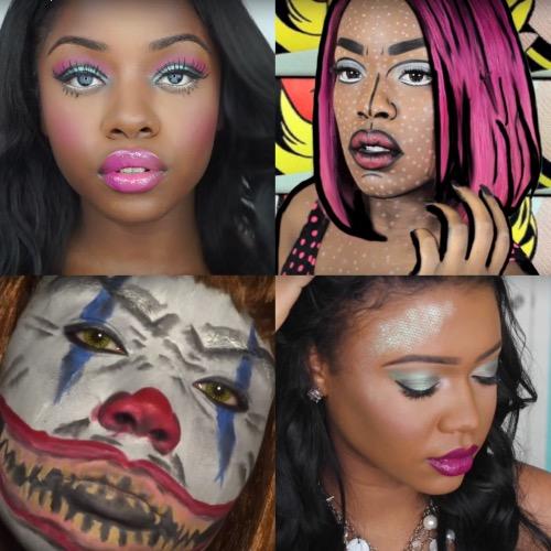 Makeup tutorial for beginners dark skin for school