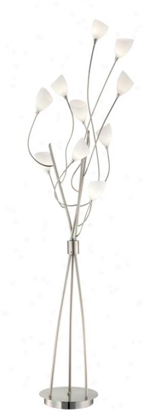 Possini Euro Design 10-Branch Light Tree Floor Lamp (T7012