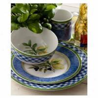 Dansk Leano Green Oval Platter @ Dinnerware & Tableware ...