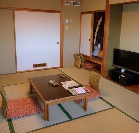 Japanese Styled Room at Toya Kanko Hotel