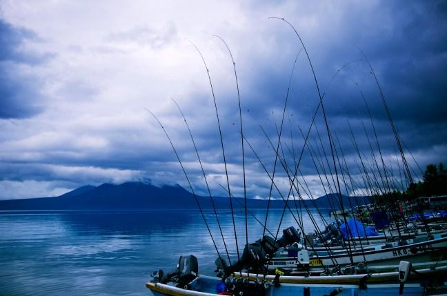 Lake Shikotsu Fishing