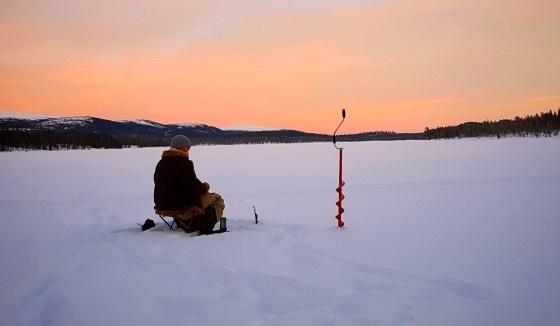 Icefishing drill