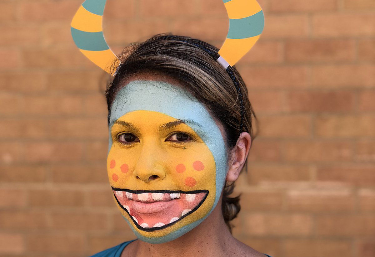 Halloween Face Paint Super Simple Monster