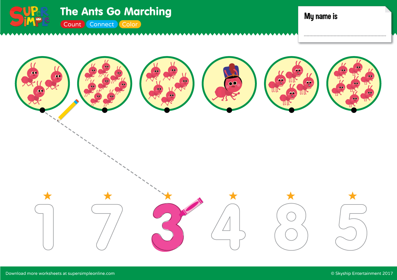 The Ants Go Marching