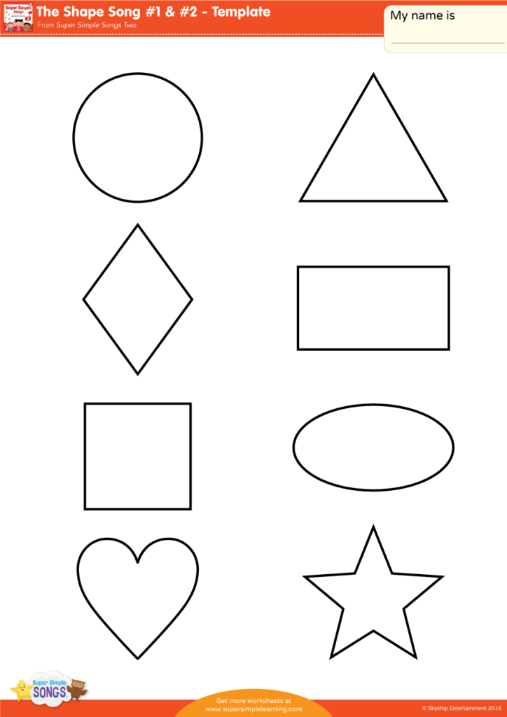 the shape song 1