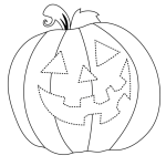 This Is The Way We Carve A Pumpkin Worksheet Trace Super Simple