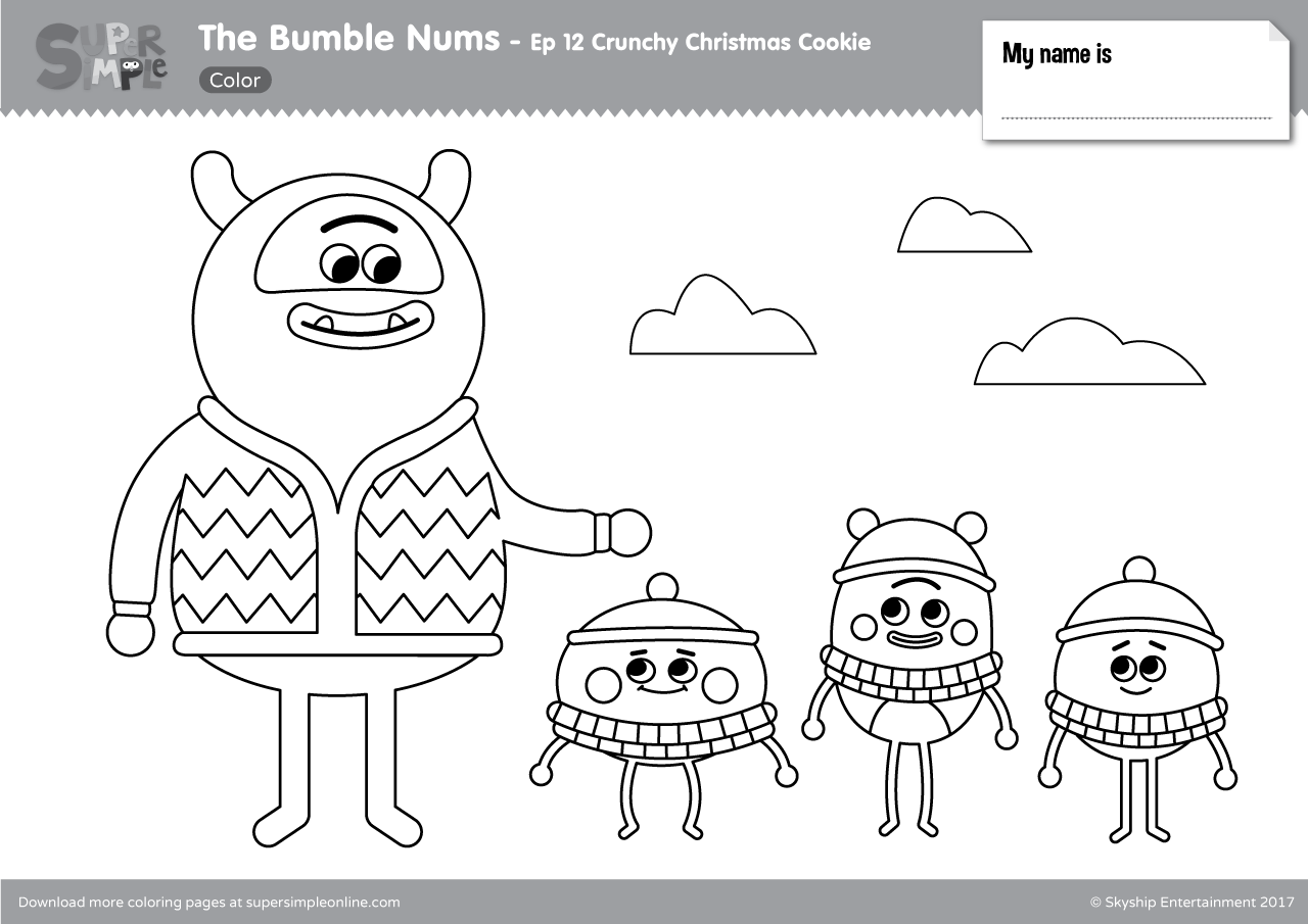 The Bumble Nums Episode 12 Crunchy Christmas Cookie