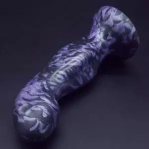 Uberrime Element 4 photo. Colors shown: luster black marbled with a pearly purple.