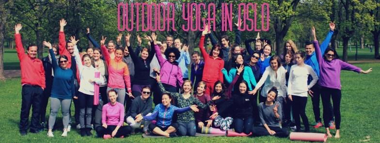 Yoga i Parken - Outdoor yoga 2016