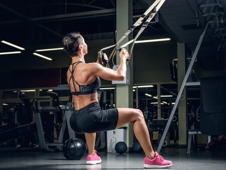 TRX Squats. TRX Suspension training. Bodyweight Workout. Super Soldier Project.