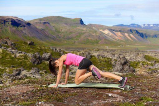 Core Exercises. Mountain Climbers. Core training. Core strengthening.