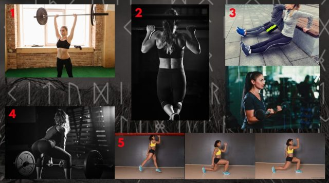 Functional Circuit. Shield-maiden Workout.