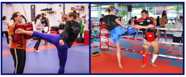 Kickboxing gyms. Martial Arts Training. Conditioning.