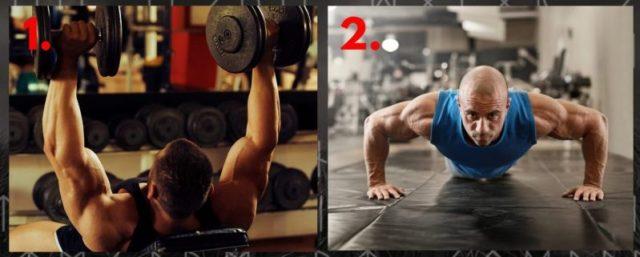 Resistance training. Bodyweight training. Upper Body.
