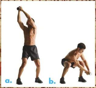 Wood chop dumbbells. Halls of Valhalla Workout. Warrior Workouts. Super Soldier Project.