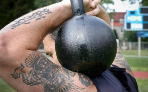 Not One Step Back. Kettlebell Training. Enemy at the Gates Workout. Super Soldier Project.