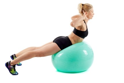 Whole Body workouts. Swiss Ball exercises.