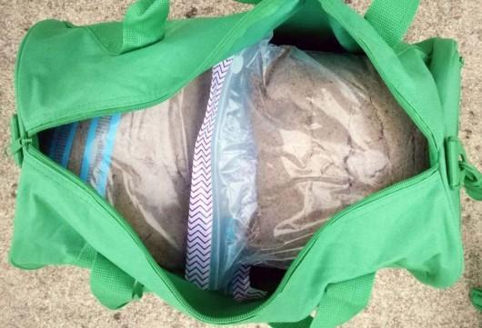 Homemade sandbag
