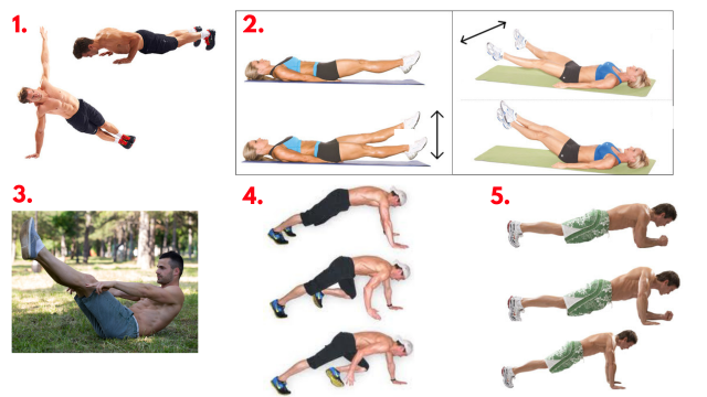 Core of Iron. Core workout. Abs. Abdominal workout. Core training. Super Soldier Project.