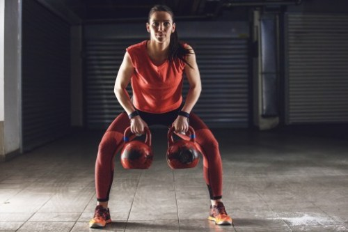 Kettlebell training. Full body workouts.