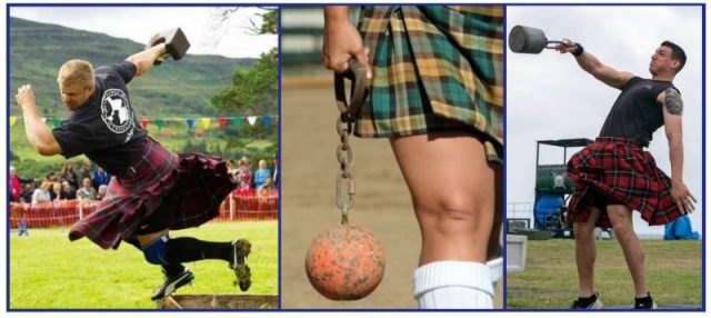 Scottish Kettlebells origin. Highland Games.