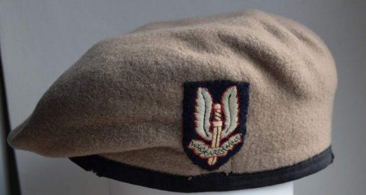 SAS Beige Beret. SAS Insignia. Who Dares Wins. Special Forces Origins.