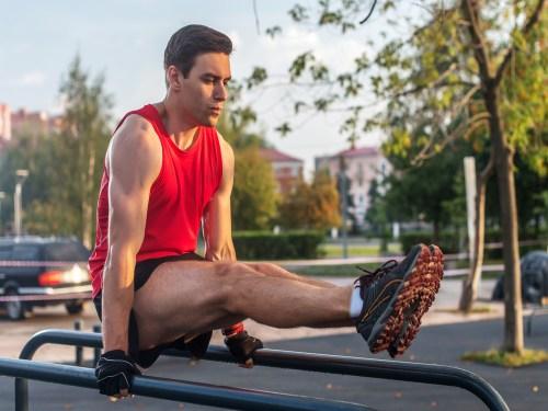 Leg raises. Abdominal Workouts. Bodyweight circuits.