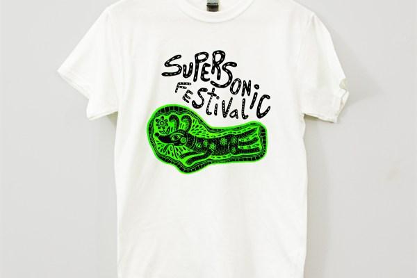 Bryn Perrott - GREEN SUPERSONIC T