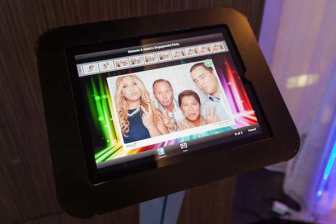 With immediate email and instant social media upload features, our sleek iSocial iPad Kiosk will enable both you and your guests to connect with the outside world in real time and share all the love, laughs and special memories from your special day with friends and family near and far!