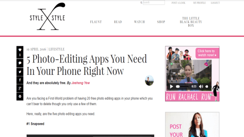April - Joined Stylexstyle as a contributing writer