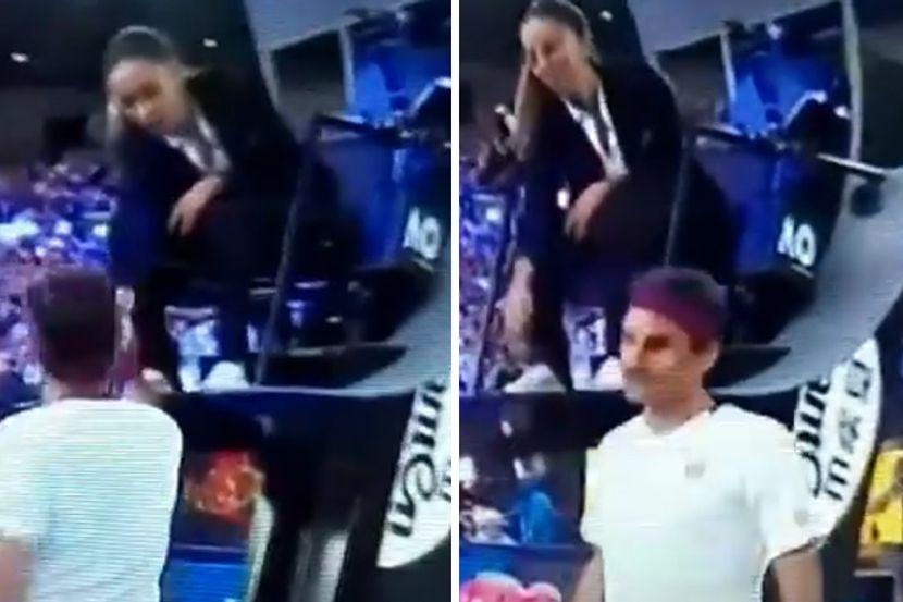 Навивачите критикуваат: Федерер е легенда, ама не е џентлмен – груб бил кон српската судијка (ВИДЕО)