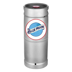 Blue Moon 1/6 Keg