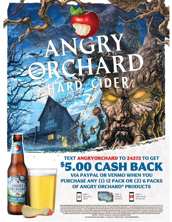 Angry Orchard Rebate
